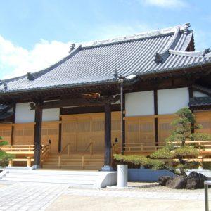 西蓮寺 本堂 修築工事