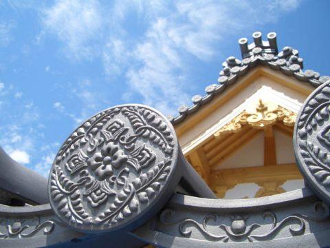 燻し瓦の歴史的産地、愛媛県の菊間瓦